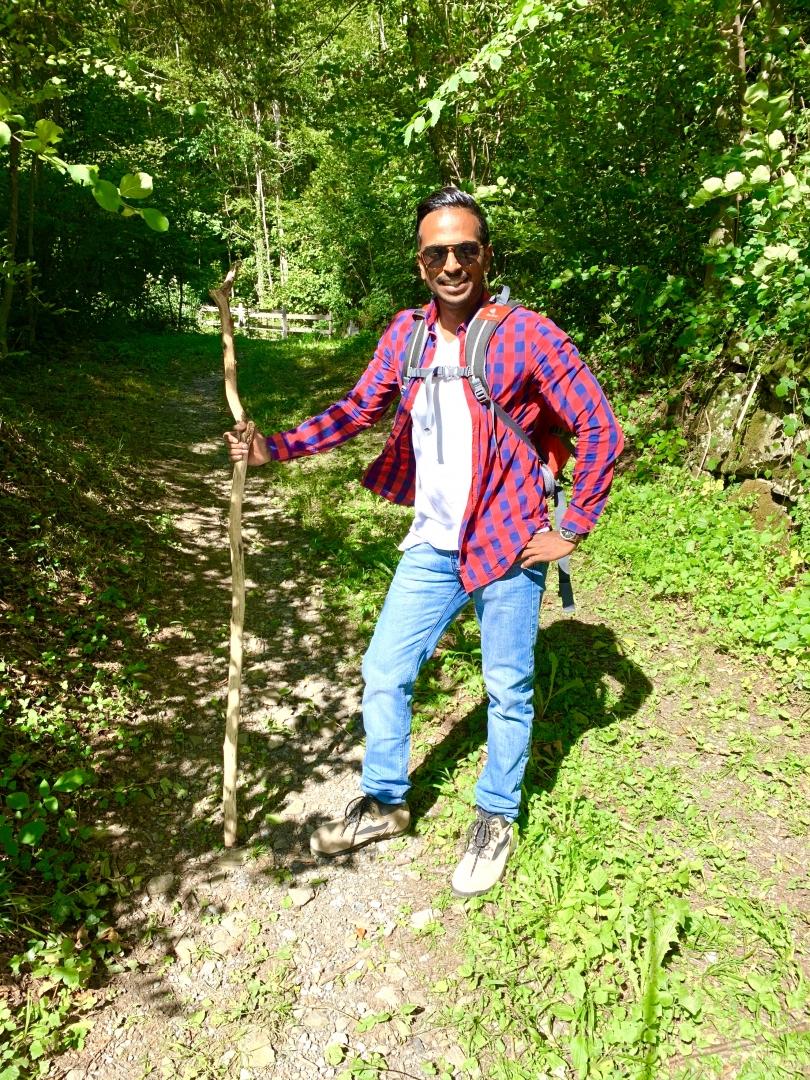 Wandern im Sarganserland.